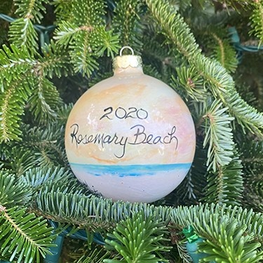 2020 Rosemary Beach® Christmas Ornament