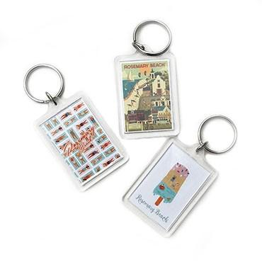 RB Press Keychain